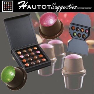 Les capsules exclusives Chocolats Hautot