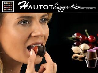Les capsules des Chocolats Grands Crus Hautot