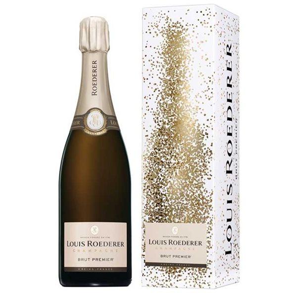Champagne Louis Roederer sous Etuit Graphique